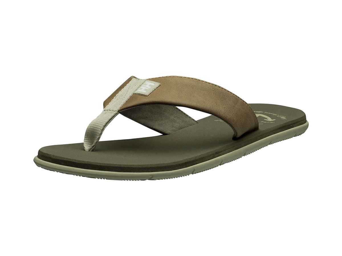 Helly Hansen SEASAND LEATHER SANDAL - CASTLE WALL / FALLEN ROCK - EU 40/US 7 (11495_723-7 )