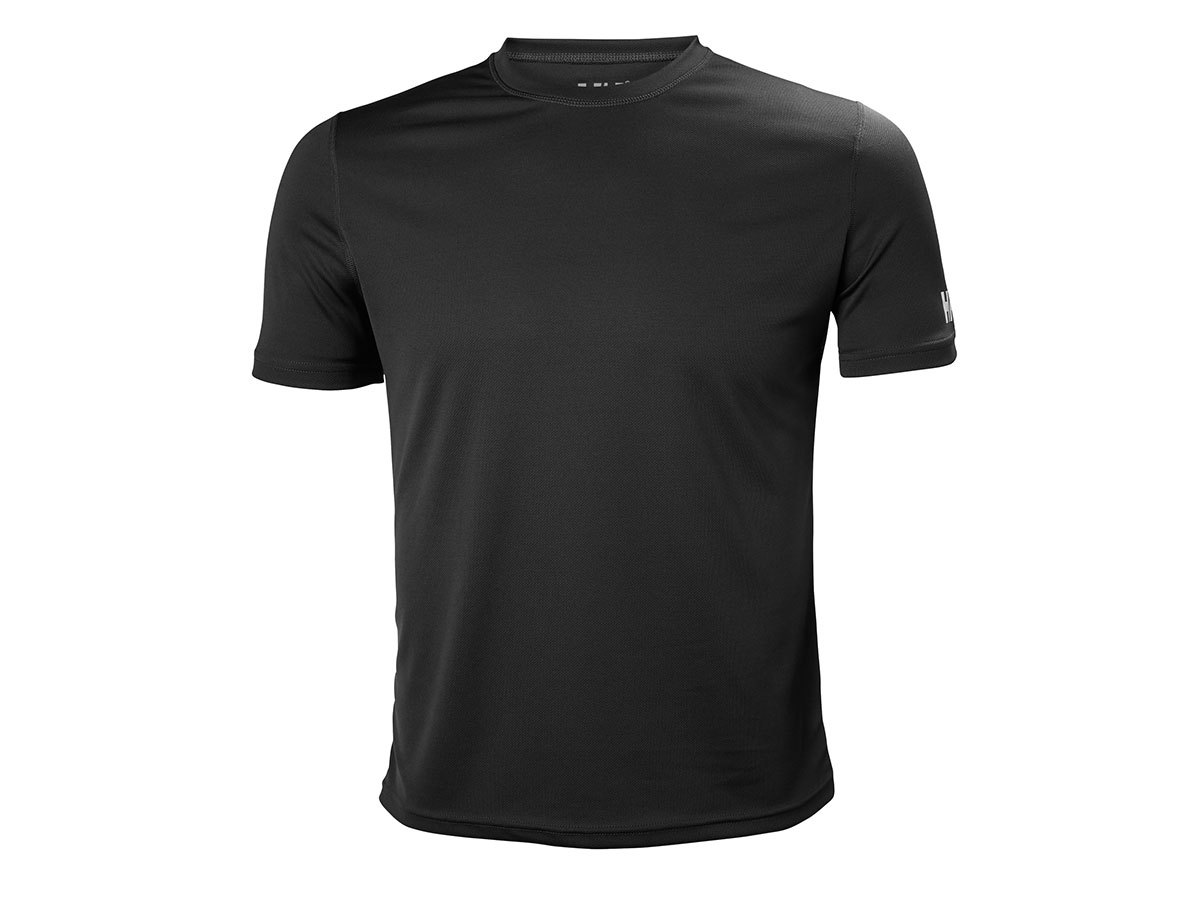 Helly Hansen HH TECH T-SHIRT - EBONY - S (48363_980-S )