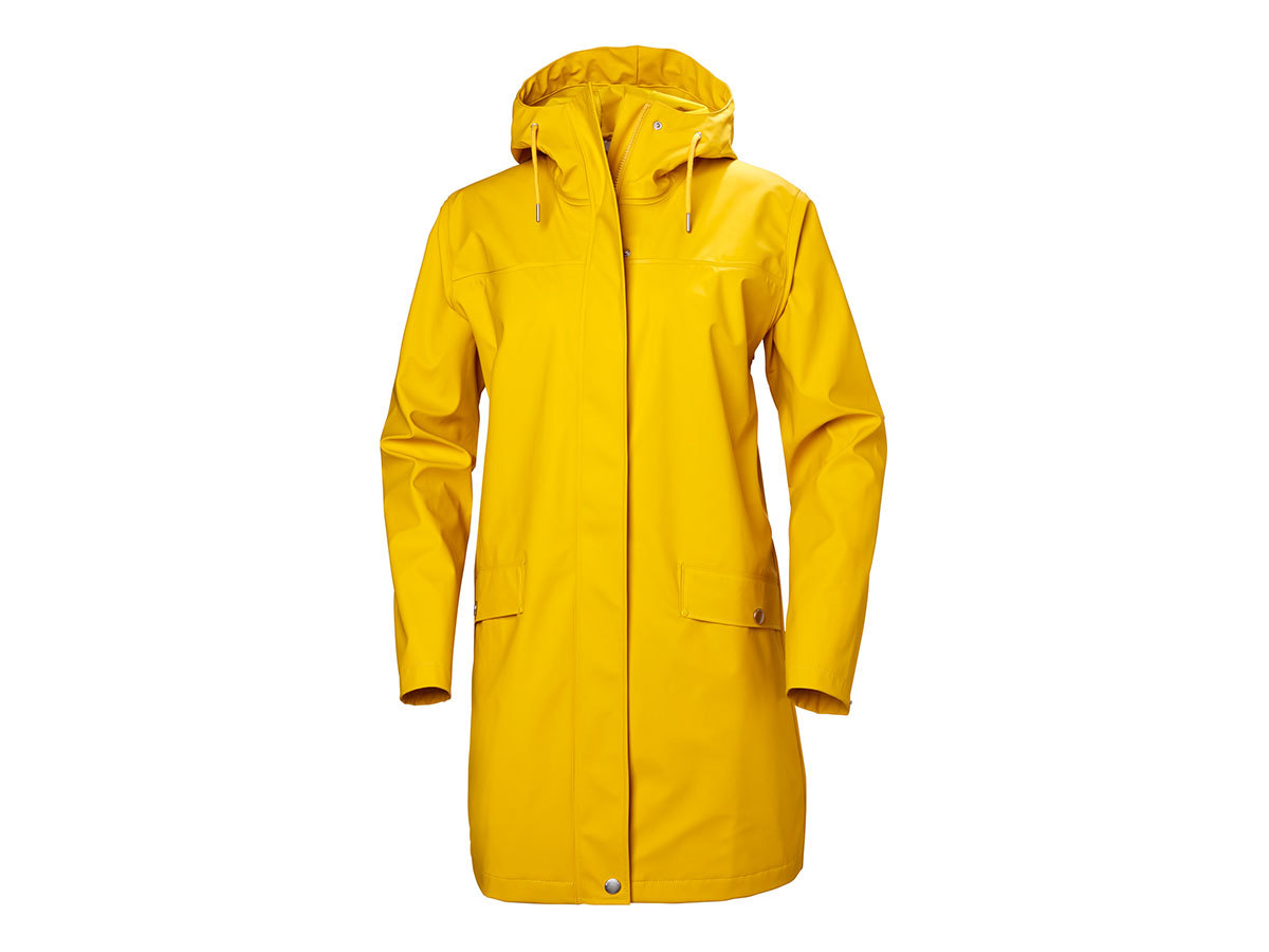 Helly Hansen W MOSS RAIN COAT - ESSENTIAL YELLOW - XL (53251_344-XL )