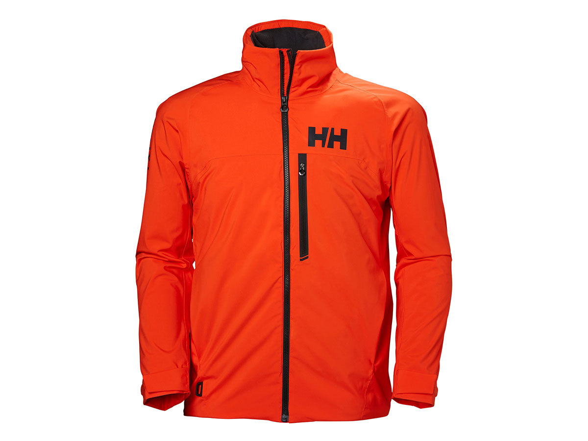 Helly Hansen HP RACING MIDLAYER JACKET - CHERRY TOMATO - XXL (34041_147-2XL )