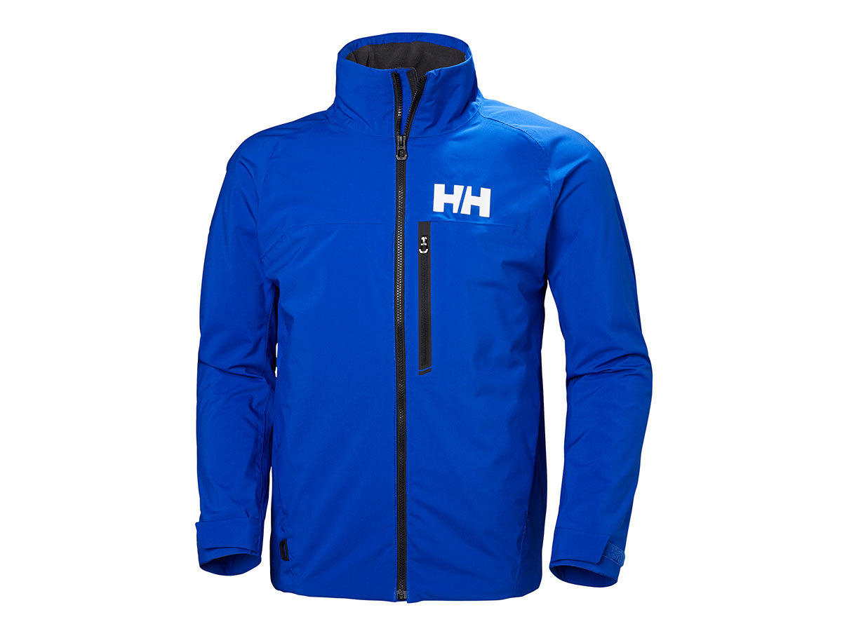 Helly Hansen HP RACING MIDLAYER JACKET - OLYMPIAN BLUE - L (34041_563-L )