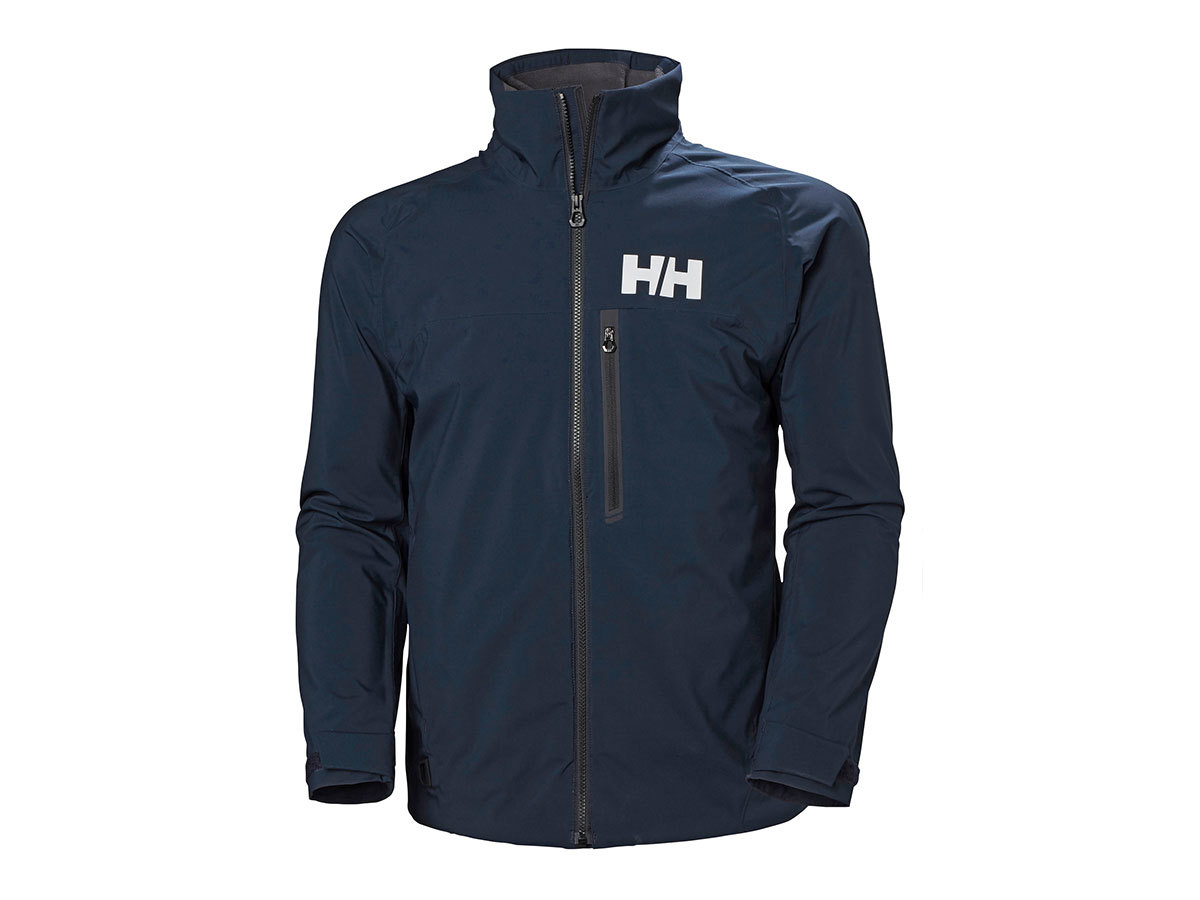 Helly Hansen HP RACING MIDLAYER JACKET - NAVY - L (34041_597-L )