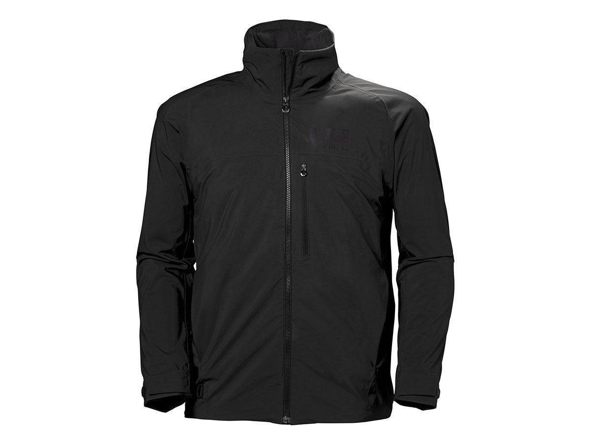Helly Hansen HP RACING MIDLAYER JACKET - EBONY - XXL (34041_980-2XL )