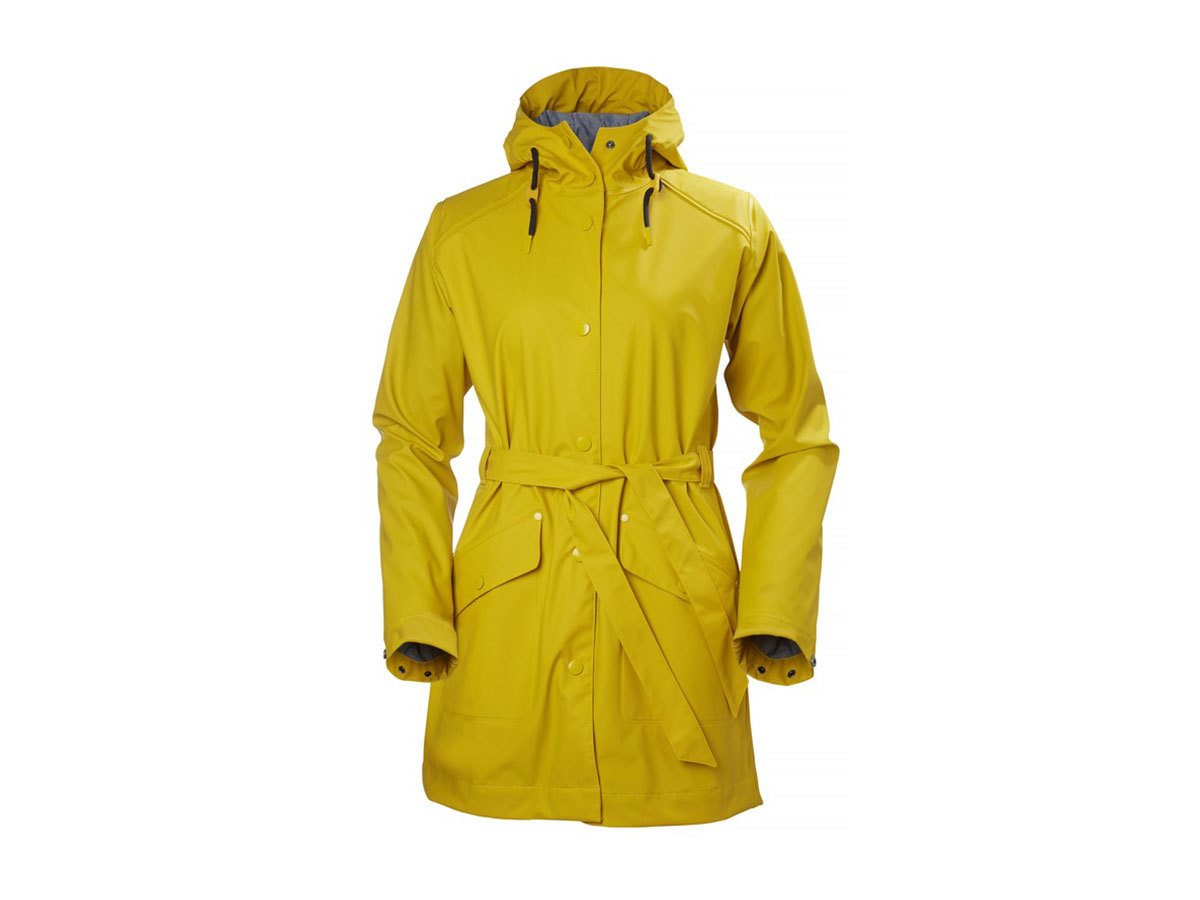 Helly Hansen W KIRKWALL RAIN COAT - ESSENTIAL YELLOW - L (64014_344-L )
