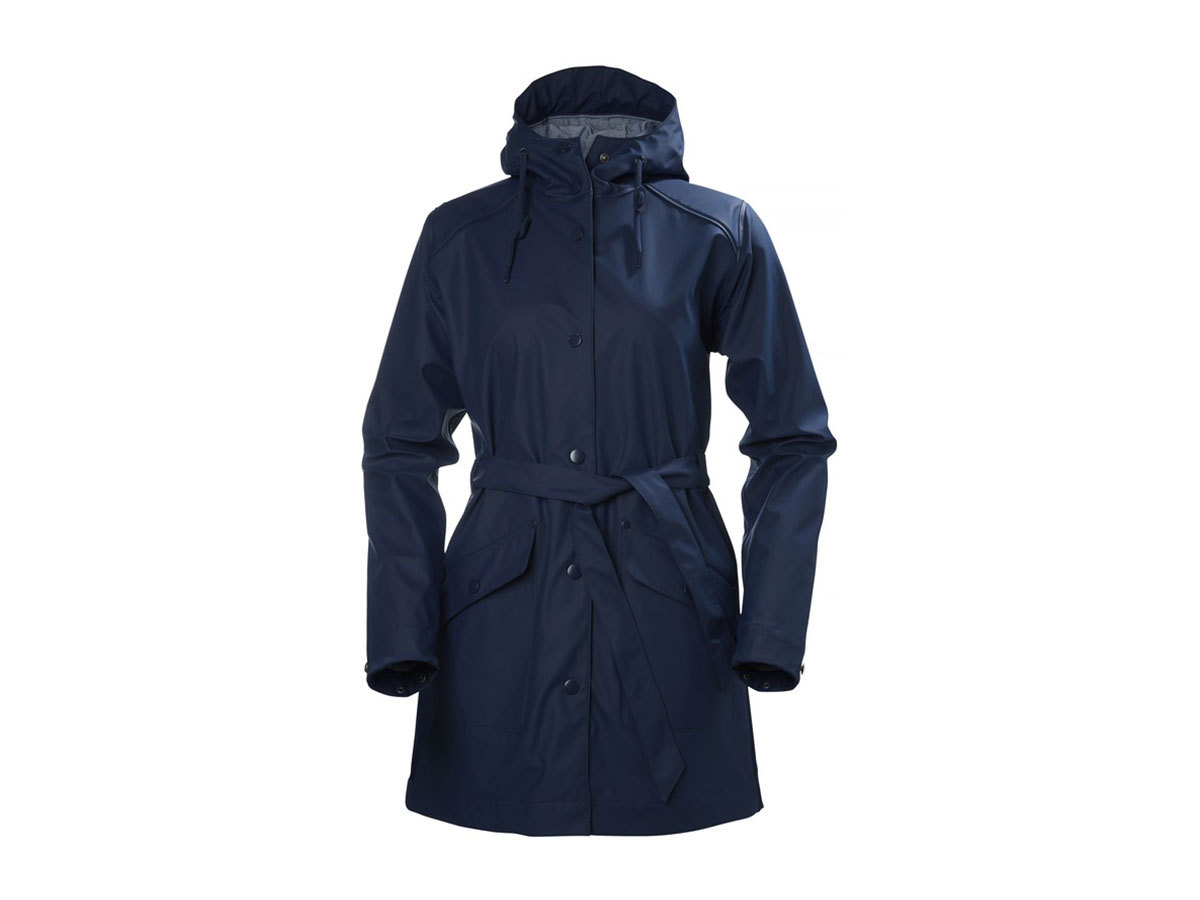 Helly Hansen W KIRKWALL RAIN COAT - EVENING BLUE - XL (64014_689-XL )