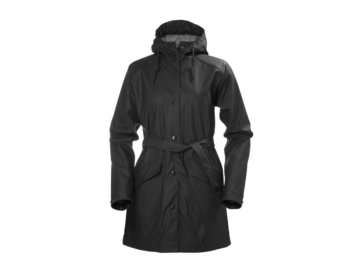 Helly Hansen W KIRKWALL RAIN COAT - BLACK - L (64014_990-L )