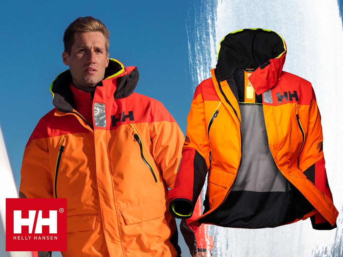 Helly Hansen SKAGEN OFFSHORE JACKET férfi vízálló dzseki professzionális technikai megoldásokkal: vízálló, szélálló, lélegző