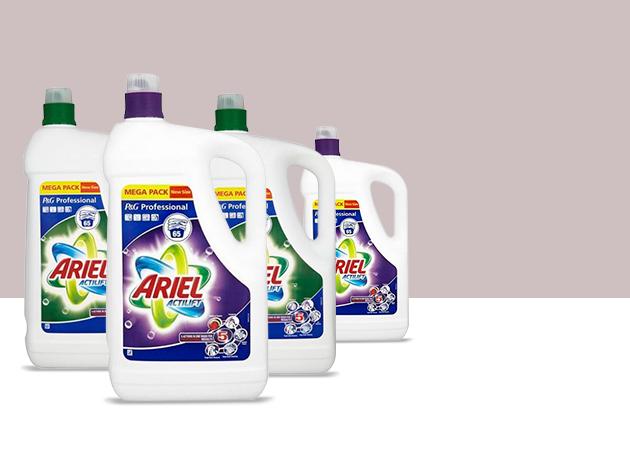 4 db Ariel Actilift 4,75l fehér vagy színes ruhákhoz