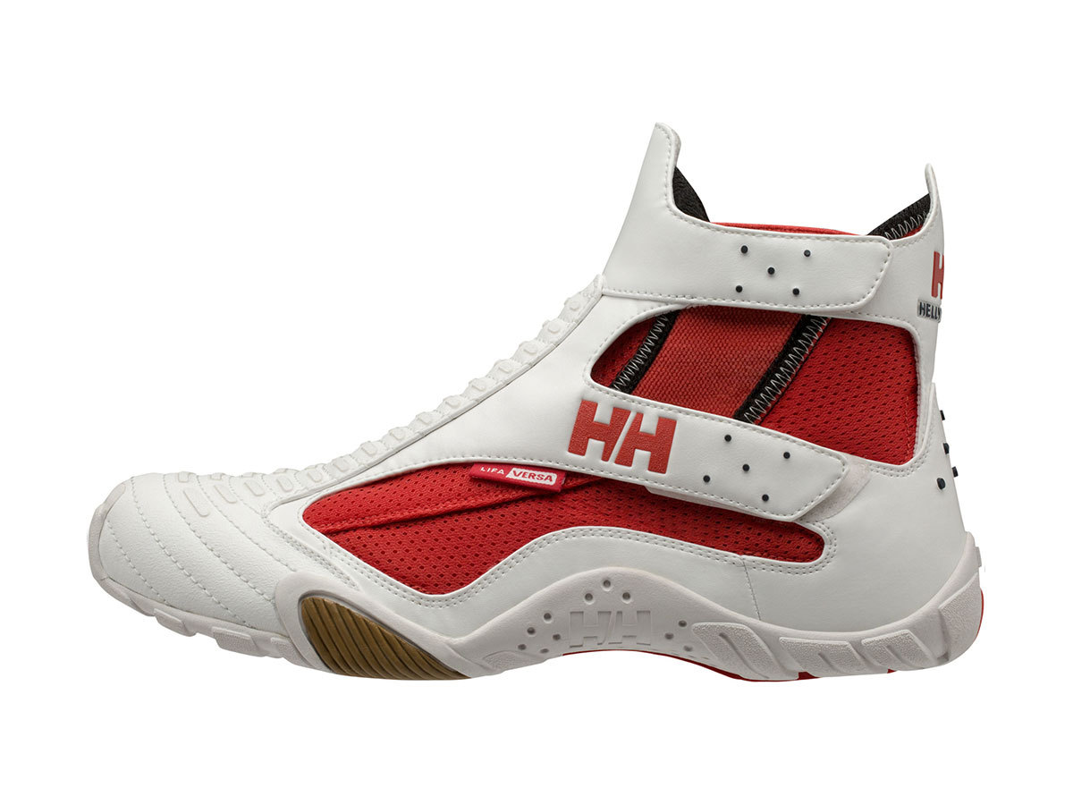 Helly Hansen SHOREHIKE ONE.2 - OFF WHITE / TABASCO / LIG - EU 42/US 8.5 (11500_216-8.5 )