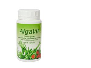 AlgaVit 180 db-os étrendkiegészítő, 3 féle algával és antioxidánssal