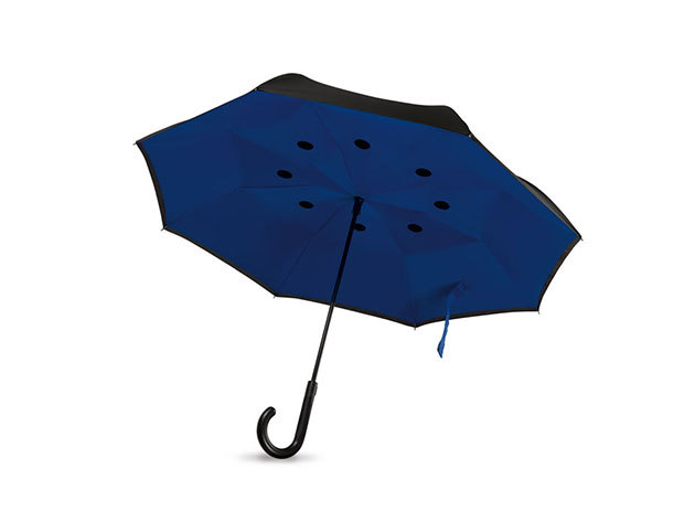Fordított esernyő - Királykék