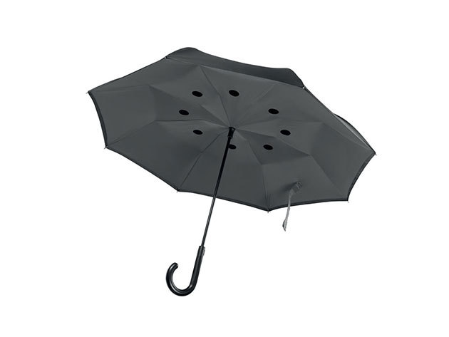Fordított esernyő - Szürke