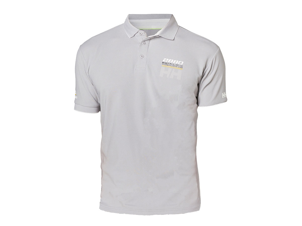 Helly Hansen HP RACING POLO - SILVER GREY - M (53012_820-M )