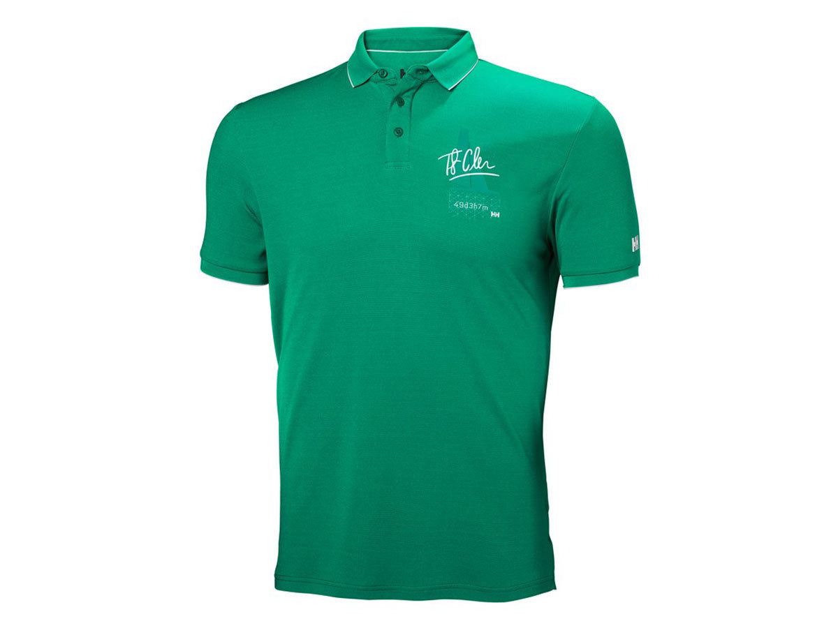 Helly Hansen HP RACING POLO - PEPPER GREEN - M (53012_471-M )