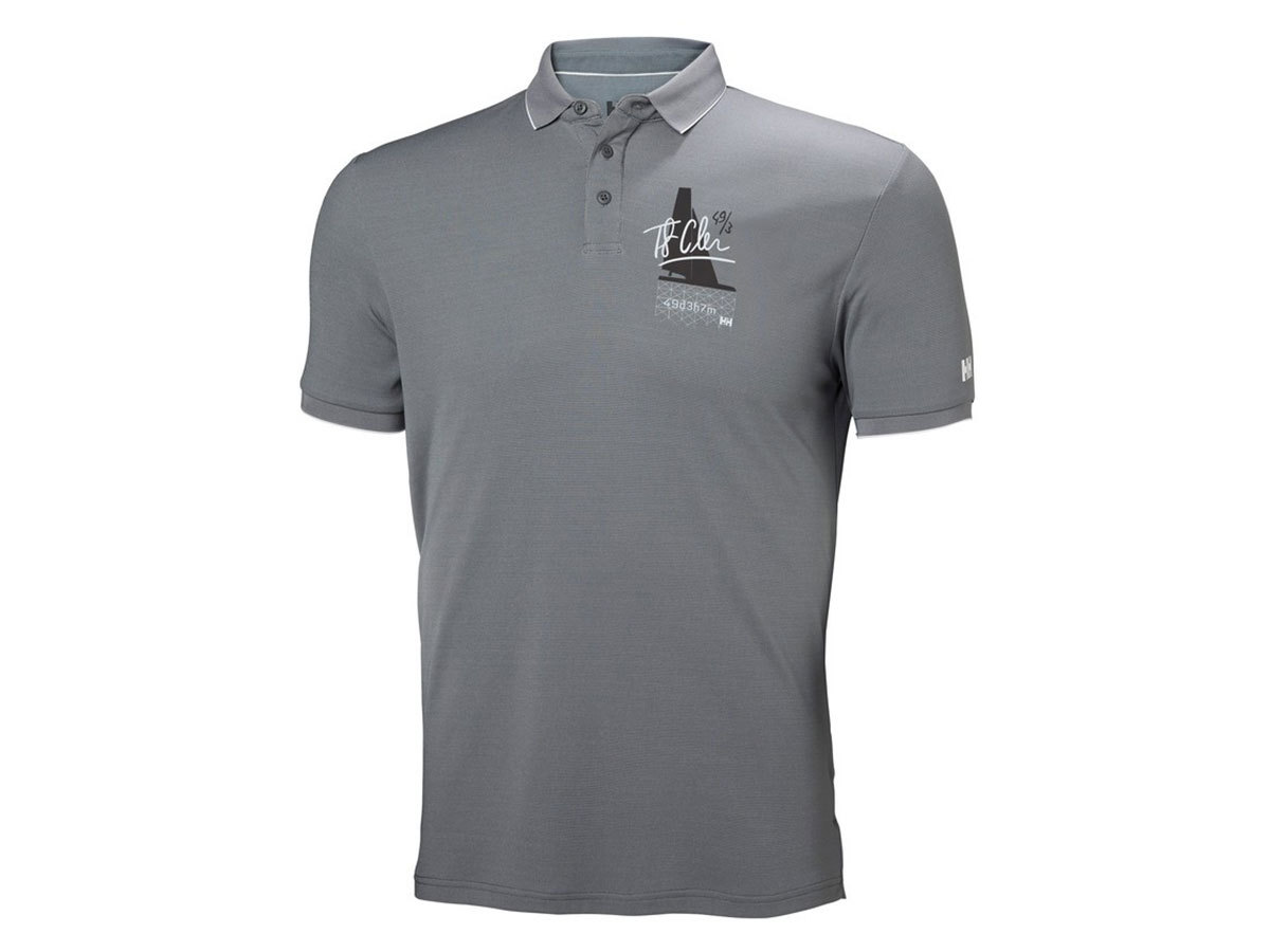 Helly Hansen HP RACING POLO - QUIET SHADE - L (53012_971-L )