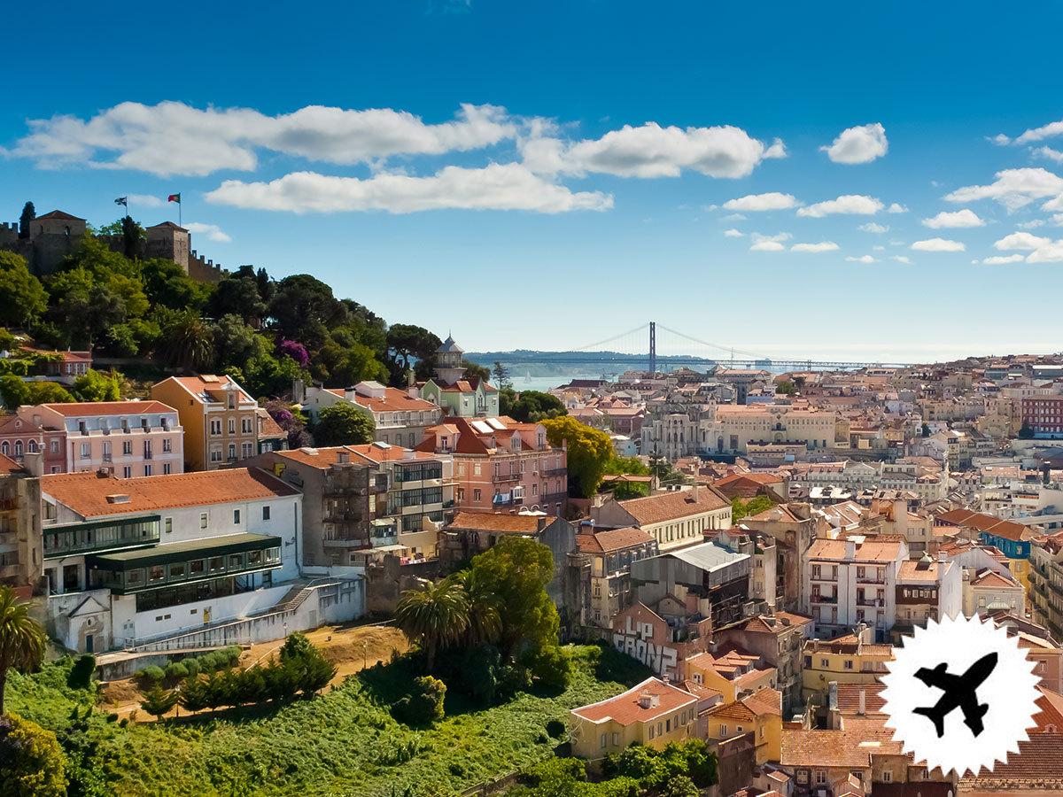 LISSZABON - utazás repülővel, szállás 3 éjszakára reggelivel, Sintra, Cascais, Estoril és Cabo da Roca kirándulási lehetőséggel / fő (repjegy illetékekkel külön fizetendő)