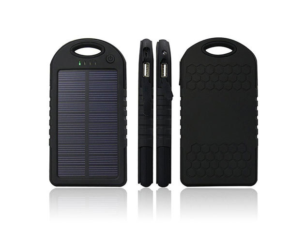 Napelemes külső akkumulátor 3.000 mAh kapacitással (HOP1000657)