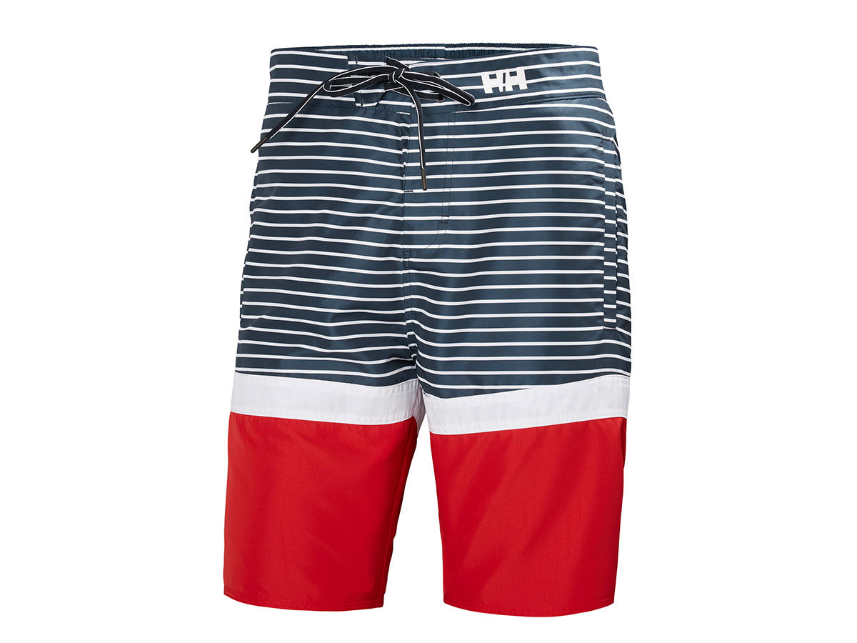 Helly Hansen MARSTRAND TRUNK - NAVY STRIPE - 32 (33982_598-32 )