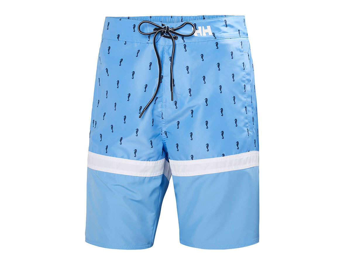 Helly Hansen MARSTRAND TRUNK - CORNFLOWER MICRO STRIPES - 28 (33982_509-28 )