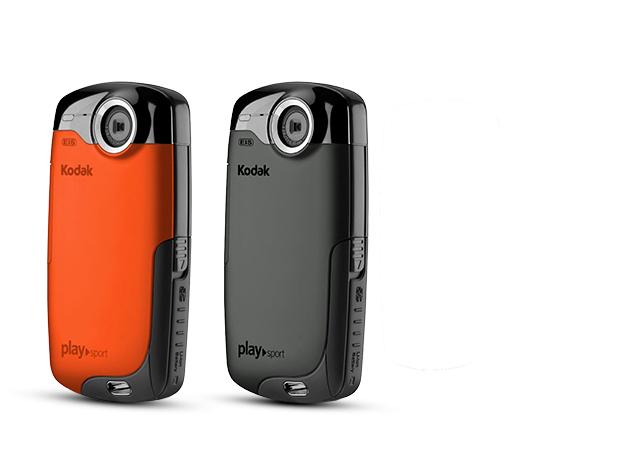Kodak Play Sport ZX3 Full HD digitális víz és ütésálló video kamera, 4 GB memory card, Deviced tok
