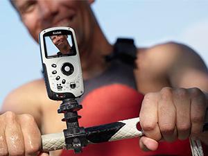 Kamera rögzítő kerékpározáshoz