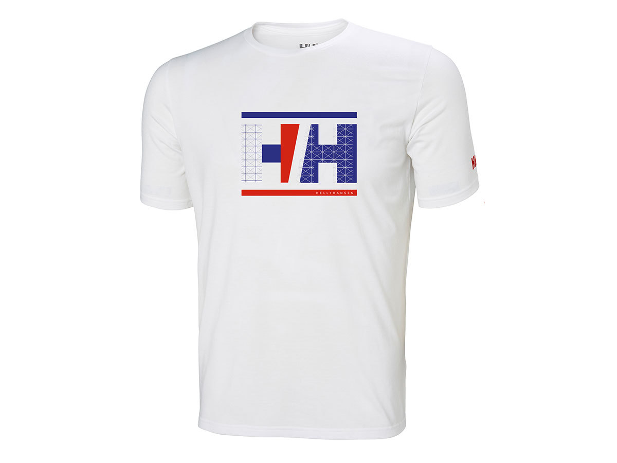 Helly Hansen HP RACING T-SHIRT - WHITE - XXL (34053_001-2XL )