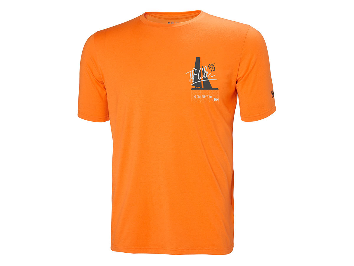 Helly Hansen HP RACING T-SHIRT - BLAZE ORANGE - XL (34053_282-XL )