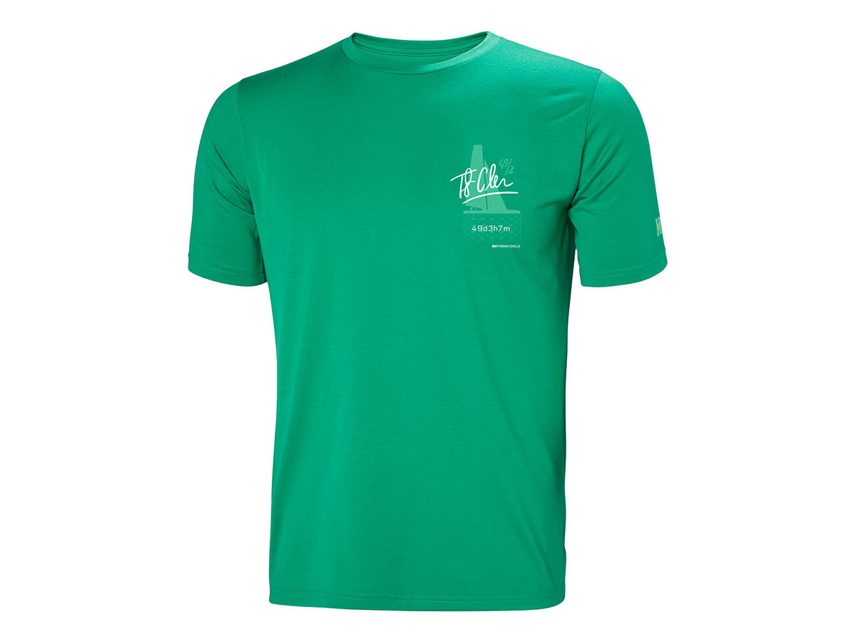 Helly Hansen HP RACING T-SHIRT - PEPPER GREEN - M (34053_471-M )