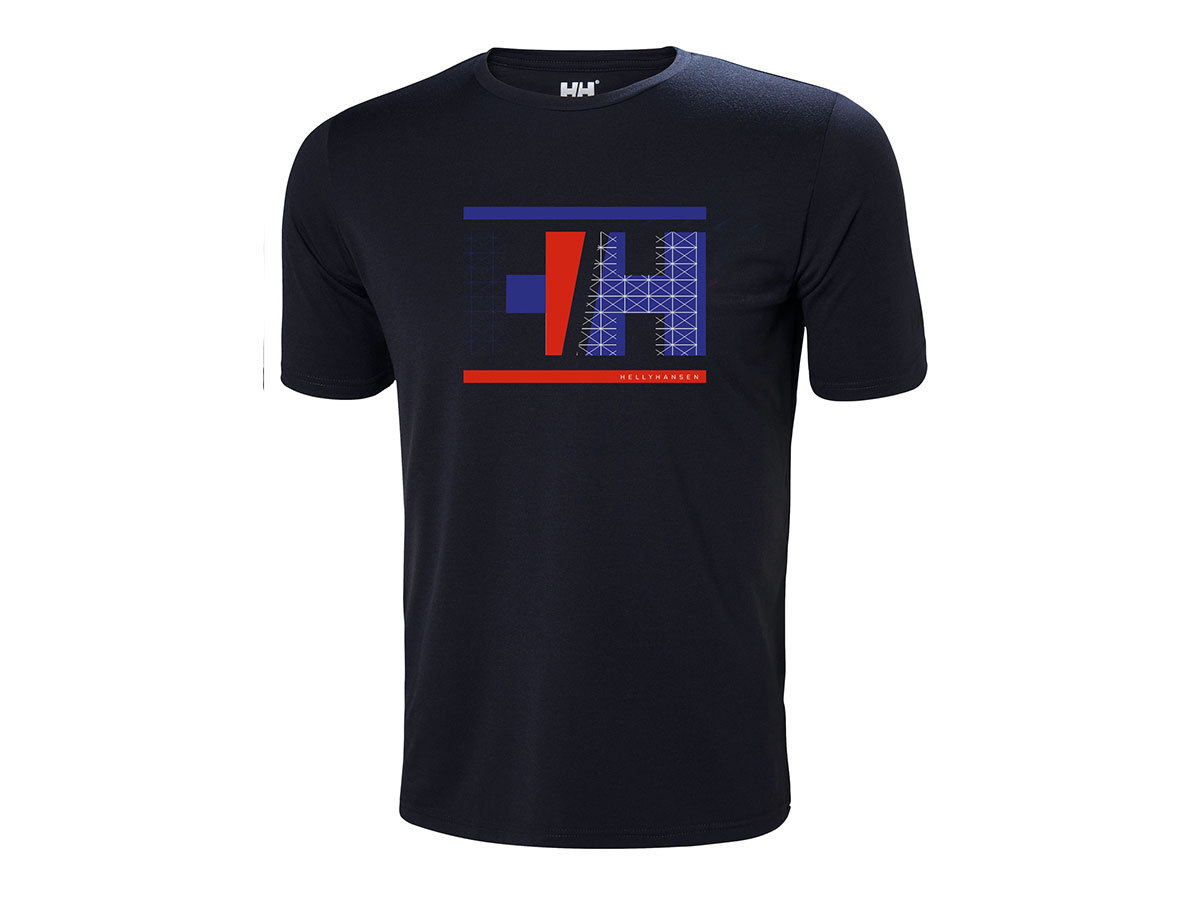Helly Hansen HP RACING T-SHIRT - NAVY - L (34053_597-L )