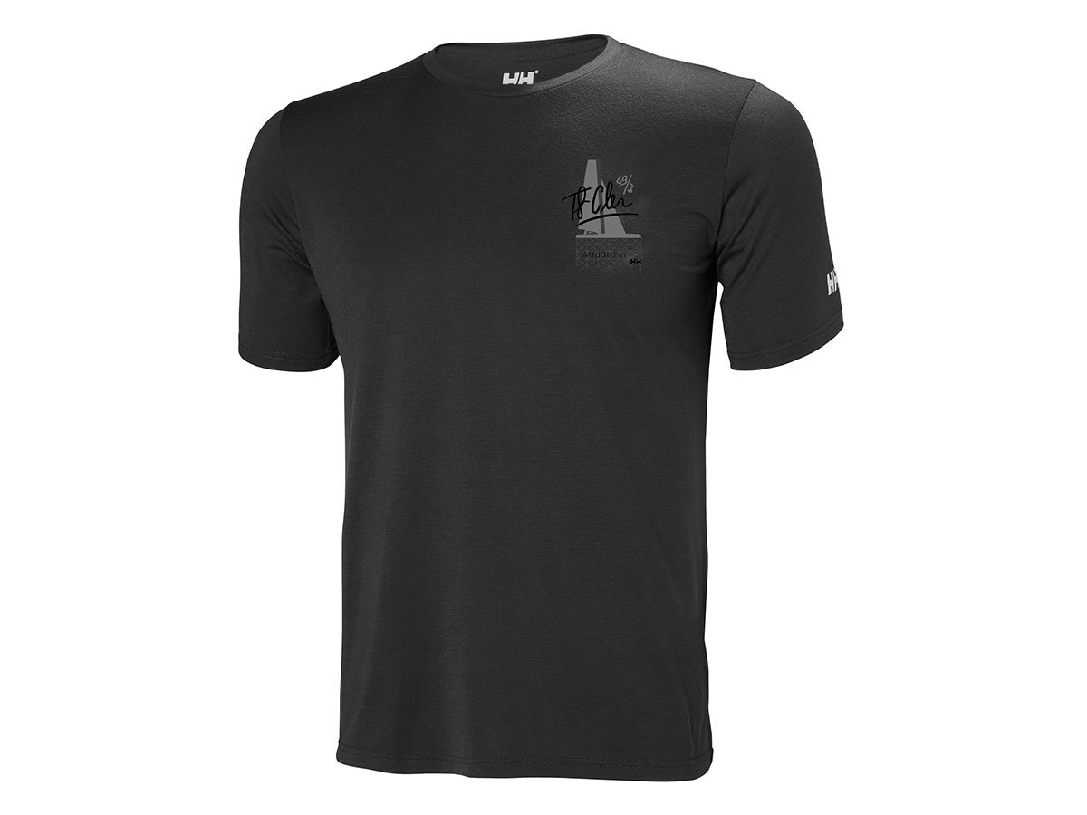 Helly Hansen HP RACING T-SHIRT - EBONY - S (34053_980-S )