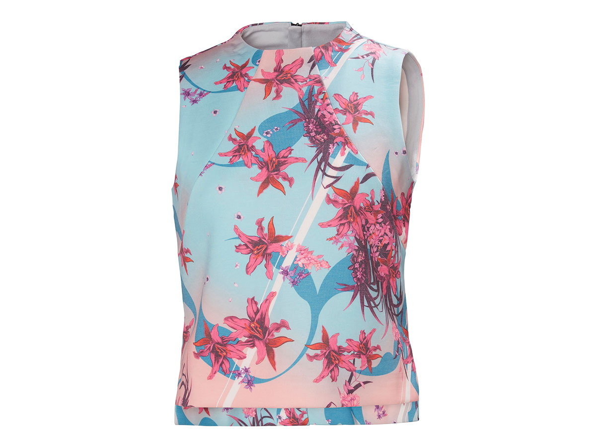 Helly Hansen W HP OCEAN SLEEVELESS TOP - NAITO PRINT - L (34097_109-L )