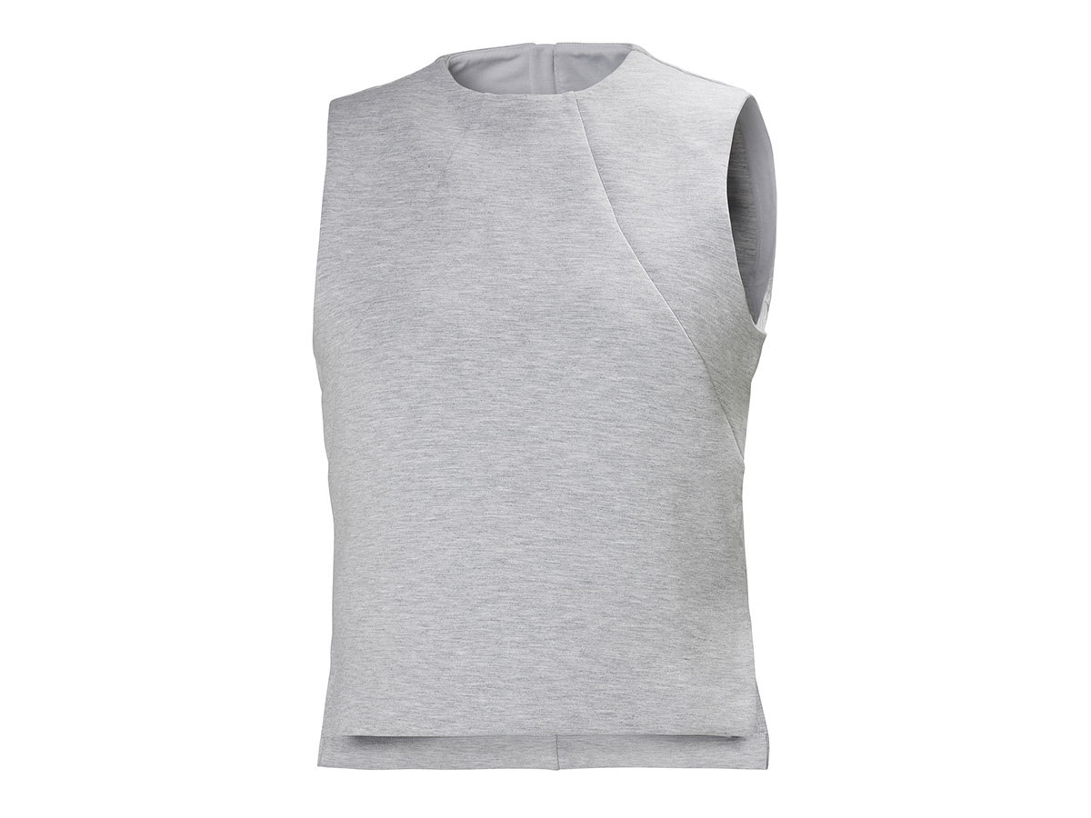 Helly Hansen W HP OCEAN SLEEVELESS TOP - GREY MELANGE - L (34097_949-L )