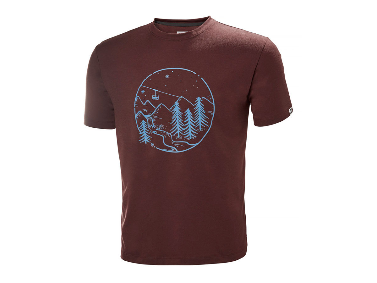Helly Hansen SKOG GRAPHIC T-SHIRT - ANDORRA - L (62856_229-L )
