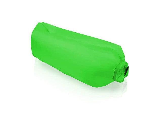 Levegővel tölthető relax ágy HOP1000725 / zöld