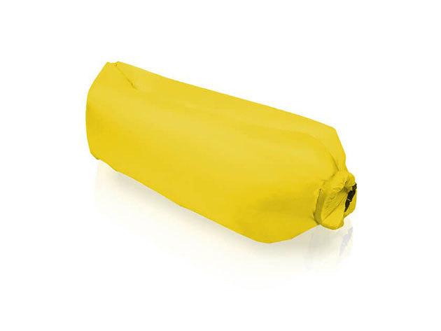 Levegővel tölthető relax ágy HOP1000725 - sárga