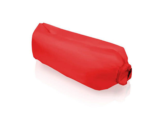 Levegővel tölthető relax ágy HOP1000725 - piros