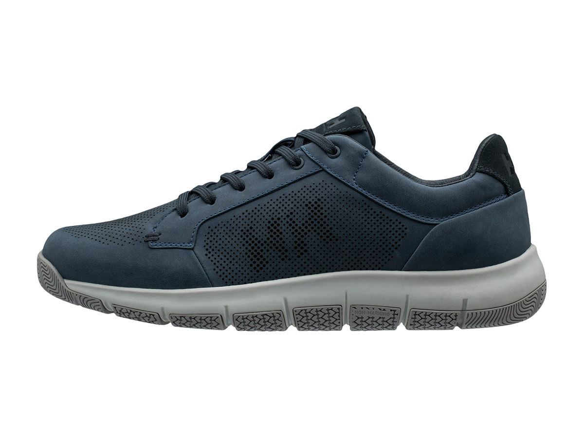 Helly Hansen SKAGEN PIER LEATHER SHOE - REAL TEAL / DARK SLATE / - EU 41/US 8 (11470_565-8 )