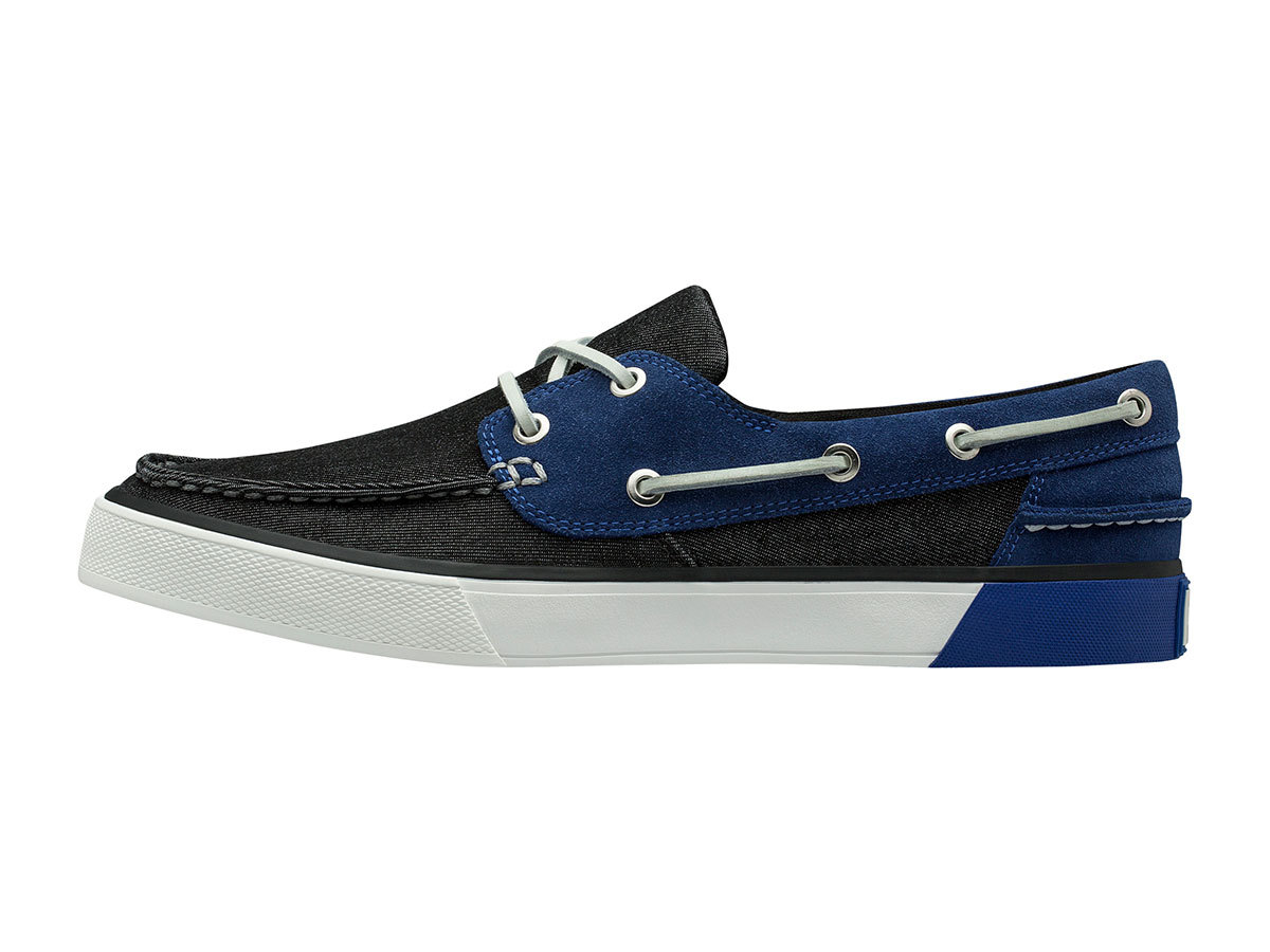 Helly Hansen SANDHAVEN DECK-SHOE - BLACK / OLYMPIAN BLUE / O - EU 40/US 7 (11469_990-7 )