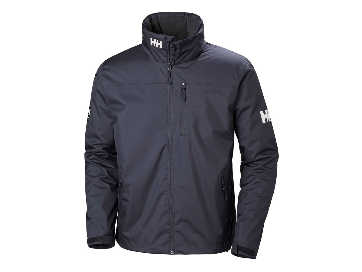 Helly Hansen CREW HOODED MIDLAYER JACKET - GRAPHITE BLUE - XXXXL (33874_994-4XL )