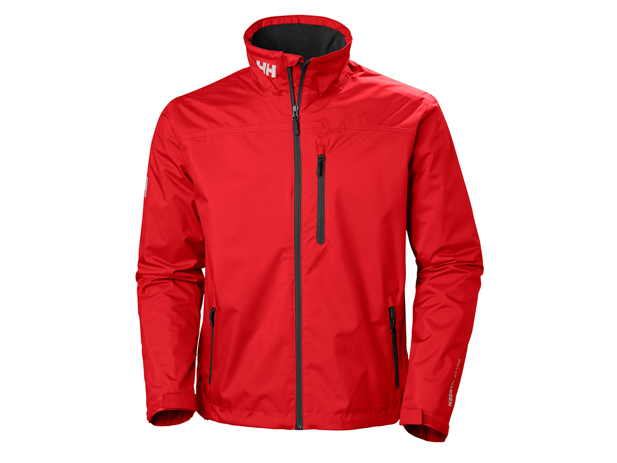 Helly Hansen CREW MIDLAYER JACKET - RED - S (30253_162-S )