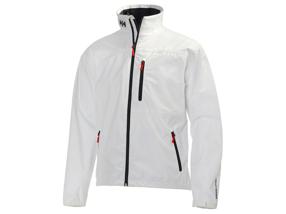 Helly Hansen CREW MIDLAYER JACKET - BRIGHT WHITE - L (30253_001-L )