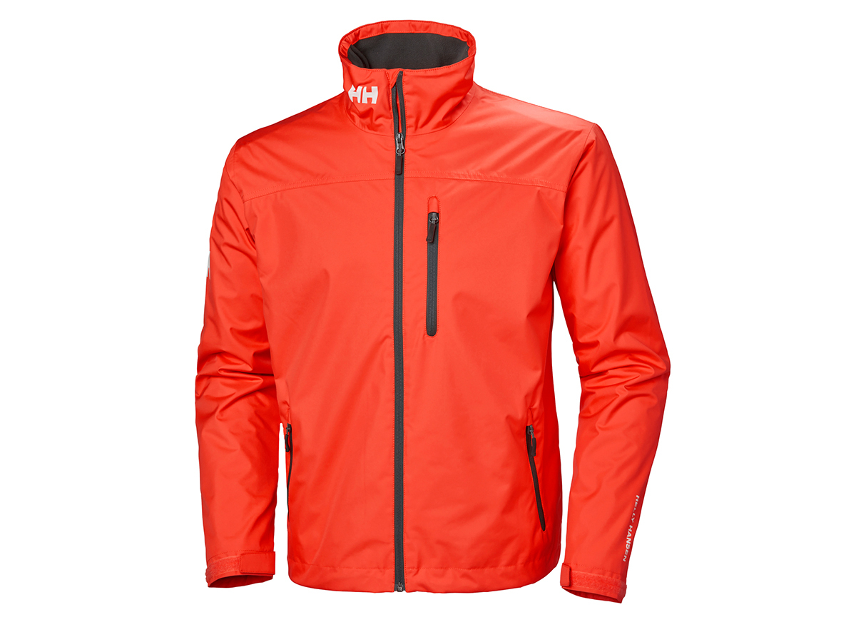 Helly Hansen CREW MIDLAYER JACKET - CHERRY TOMATO - XS (30253_147-XS )