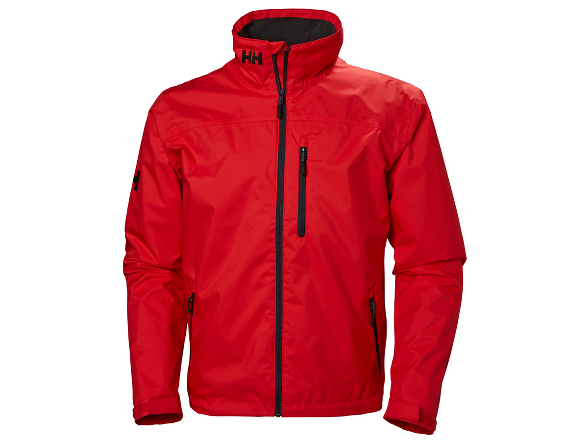Helly Hansen CREW MIDLAYER JACKET - ALERT RED - L (30253_222-L )