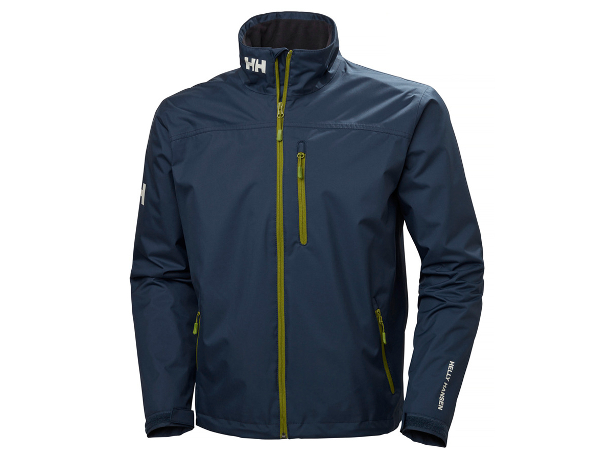 Helly Hansen CREW MIDLAYER JACKET - NORTH SEA BLUE - M (30253_603-M )