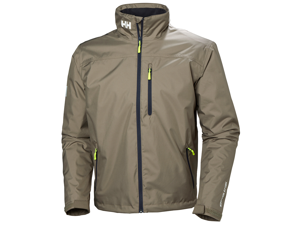 Helly Hansen CREW MIDLAYER JACKET - FALLEN ROCK - XS (30253_720-XS )