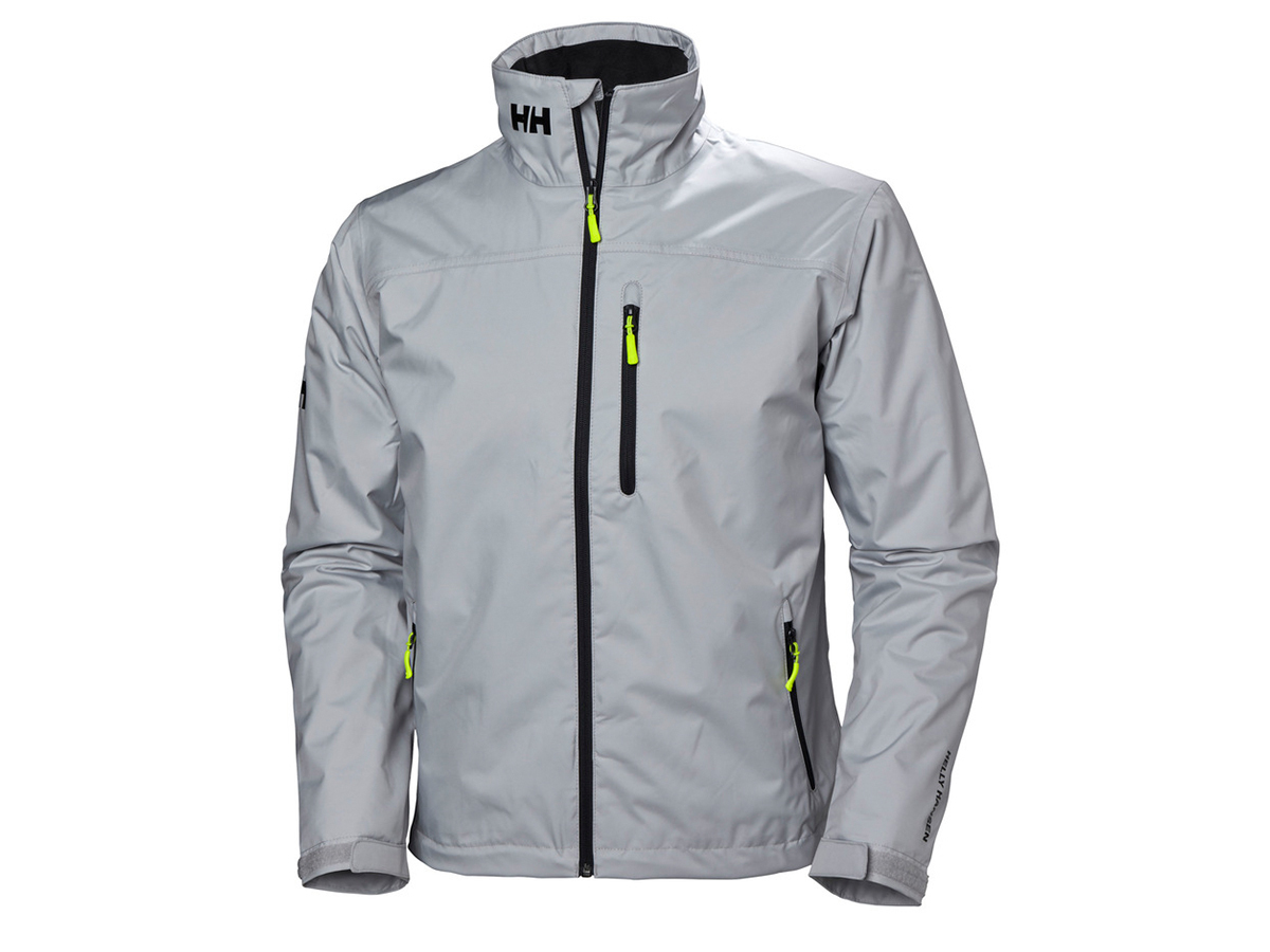 Helly Hansen CREW MIDLAYER JACKET - GREY FOG - L (30253_853-L )