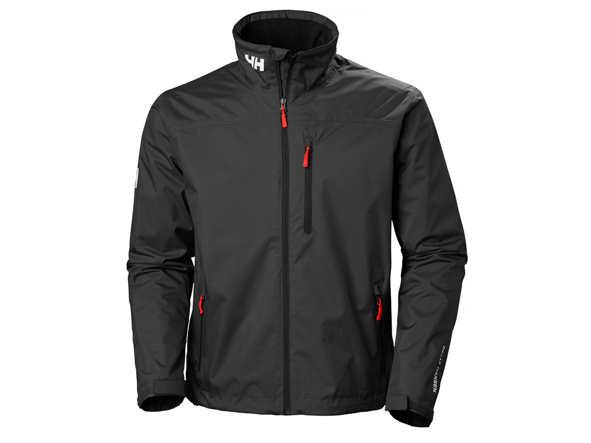 Helly Hansen CREW MIDLAYER JACKET - BLACK - L (30253_990-L )