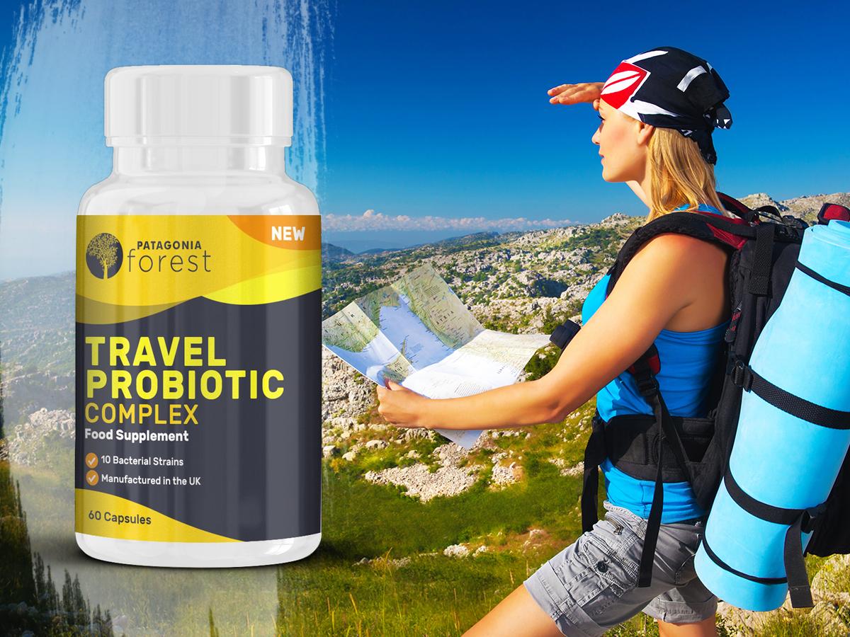 Travel Probiotic complex (60 db kapszula) étrend-kiegészítő az egészséges, erős immunrendszerért, a nyaralás alatt is