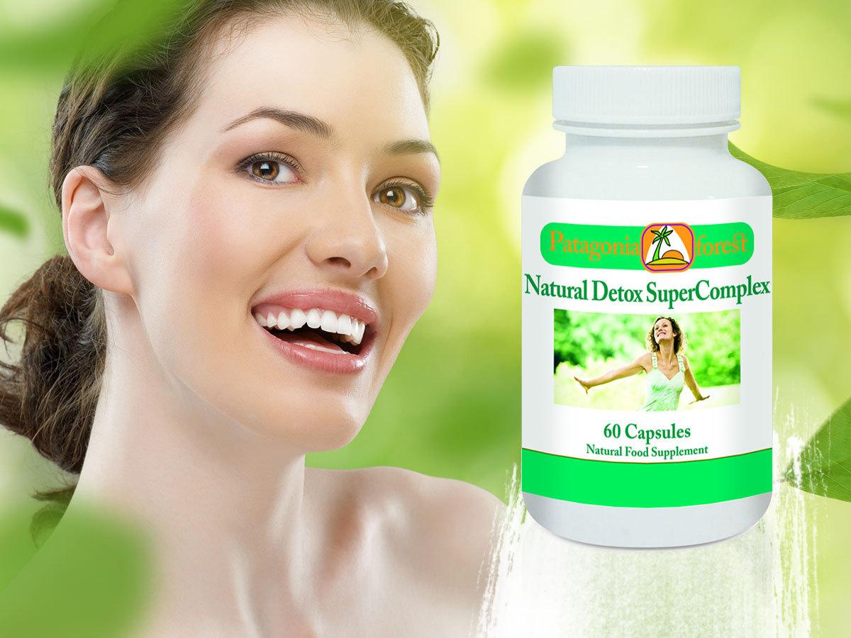 Natural Detox Supercomplex 60db kapszula - természetes étrend kiegészítő, méregtelenítő hatással