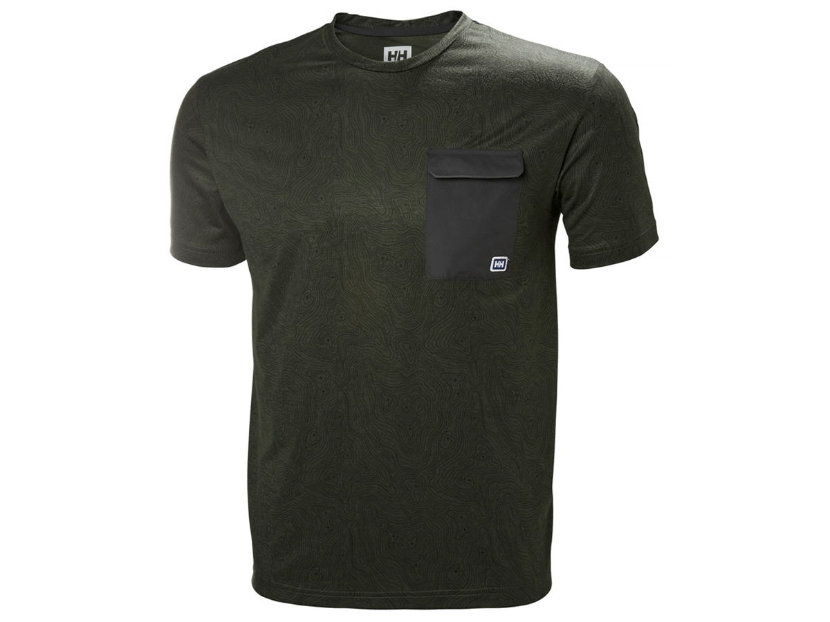 Helly Hansen LOMMA T-SHIRT - FOREST NIGHT PRINT - L (62857_469-L )